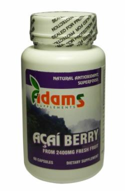 Acai Berry 600Mg 60Cps Adams Vision