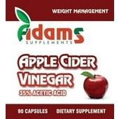 Apple Cider Vinegar 90Cps Adams Vision