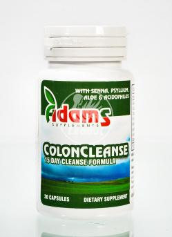 Colon Cleanse 30Cps Adams Vision