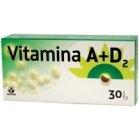 Produse naturiste BIOFARM - VITAMINA A+D2 30cps BIOFARM