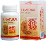 Produse naturiste DACIA PLANT - B NATURAL (POLEN&DROJDIE)60cpr DACIA PLANT