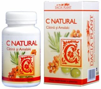 Produse naturiste DACIA PLANT - C NATURAL (CATINA&AMALAKI)60cpr DACIA PLANT