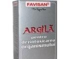 Produse naturiste FAVISAN - ARGILA GRANULE 100gr FAVISAN
