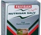 Produse naturiste FAVISAN - CEAI NUTRISAN SALV CIRCULATIEI 50gr FAVISAN