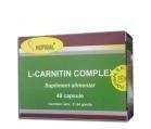 Produse naturiste Hofigal - L-CARNITIN COMPLEX 40cps HOFIGAL