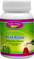 Produse naturiste INDIAN HERBAL - Afectiuni digestive - ACID RELAX 50g INDIAN HERBAL