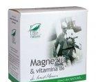 Produse naturiste MEDICA - MAGNEZIU+VIT.B6 30cps MEDICA