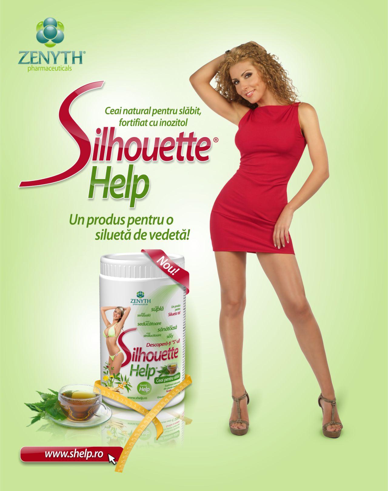 Produse naturiste ZENYTH PHARMACEUTICALS SRL - SILHOUETTE HELP (ceai de slabit) 450g ZENYTH
