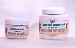 Produse naturiste ABEMAR MED - CREMA NUTRITIVA GERMENI DE GRAU 50ml