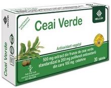 Produse naturiste AC HELCOR PHARMA - Ceai Verde 30Cpr Ac Helcor