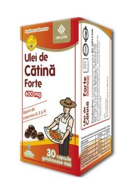 Produse naturiste AC HELCOR PHARMA - Ulei Catina Forte 600Mg 30Cps Ac Helcor