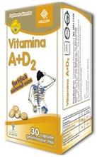 Produse naturiste AC HELCOR PHARMA - Vitamina A+D2 30Cps Ac Helcor