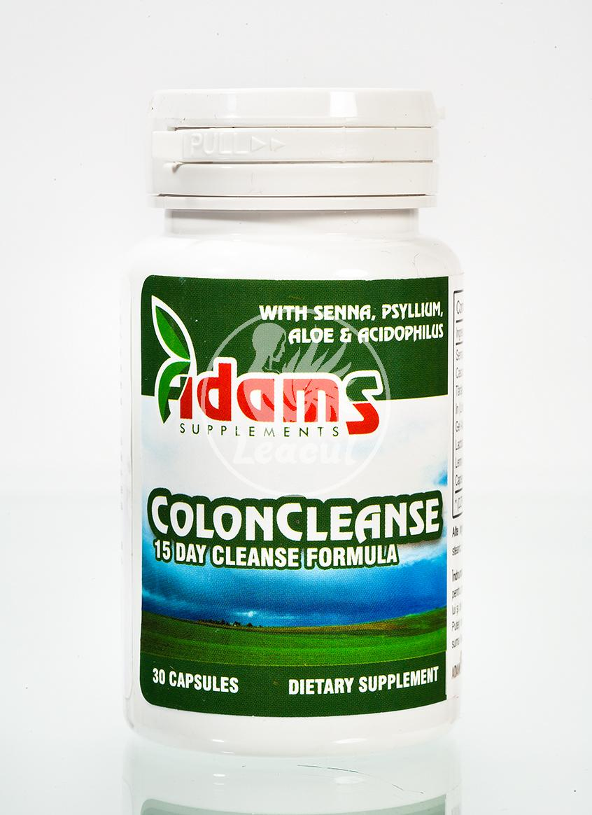 Produse naturiste ADAMS VISION - Colon Cleanse 30Cps Adams Vision