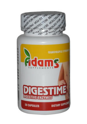 Produse naturiste ADAMS VISION - Digestime 325Mg 20Cps Adams Vision
